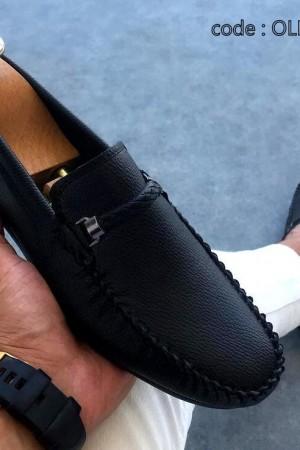 Siyah Kemerli Ayakkabı - OLD 5210