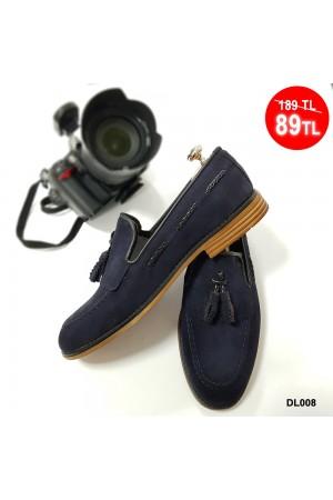 Erkek Ayakkabı Mavi DL008