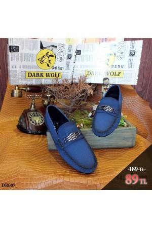 Erkek Ayakkabı Mavi DR007