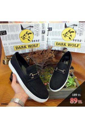 Erkek Ayakkabı Siyah D0002