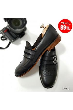 Erkek Ayakkabı Siyah DS003