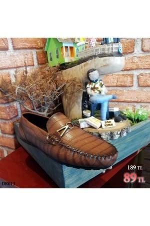Erkek Ayakkabı Taba DR013