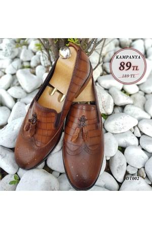 Erkek Ayakkabı Taba DT002