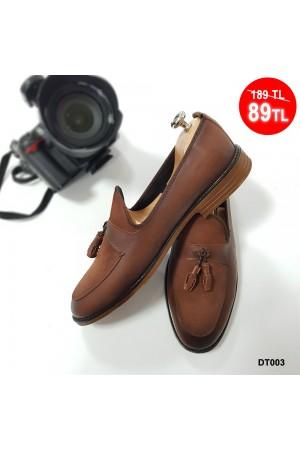 Erkek Ayakkabı Taba DT003