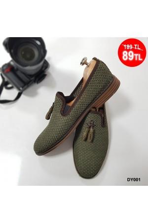 Erkek Ayakkabı Yeşil DY001