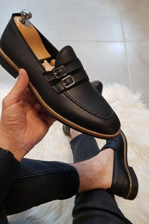 Siyah Cilt Ayakkabı - OLD 4121