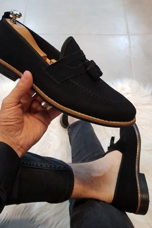 Siyah Süet Ayakkabı - OLD 4081