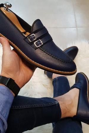 Lacivert Cilt Ayakkabı - OLD 4122