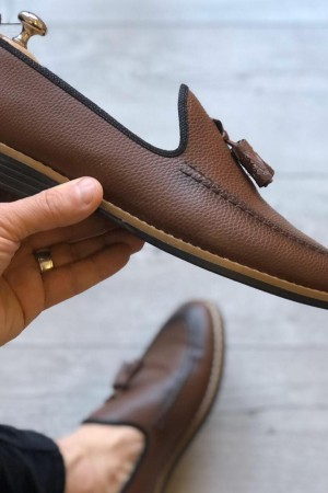 Kahve Cilt Ayakkabı - OLD 4047