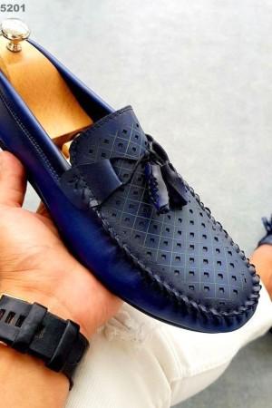 Lacivert Cilt Ayakkabı - OLD 5202