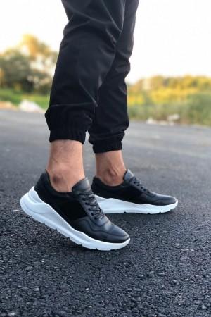 Siyah Beyaz Taban Spor Ayakkabı - SPR 1007